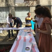 Atelier d'intelligence collective à l'hôpital d'Avron - Printemps 2019